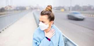 smog niszczy skórę