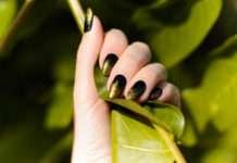 paznokcie latem