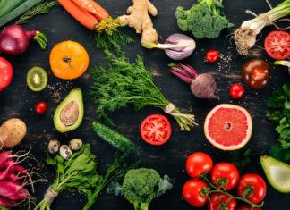 kolory owoców i warzyw