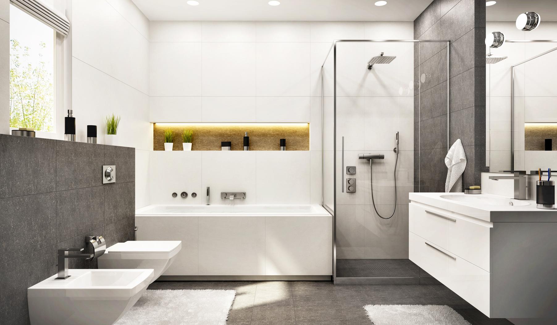 łazienka I Toaleta Razem Pinesskapl
