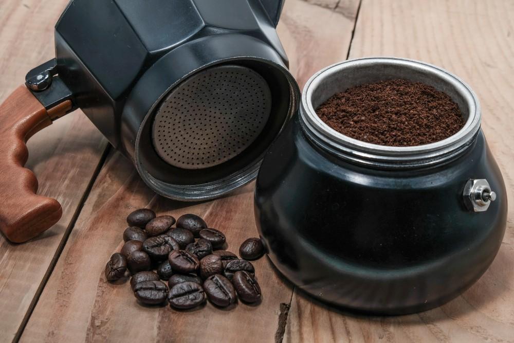 Kawiarka gotowa do parzenia