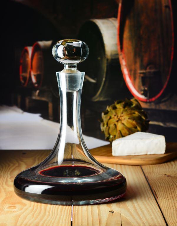 wino w karafce