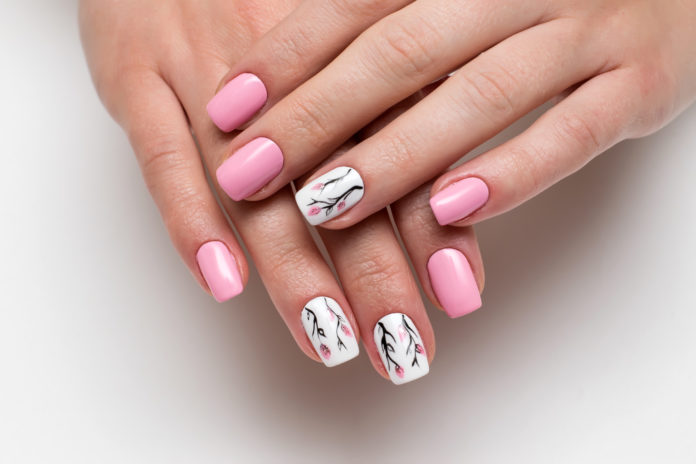 manicure jak pory roku