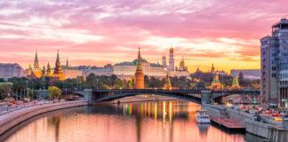 Moskwa, widok na Kreml
