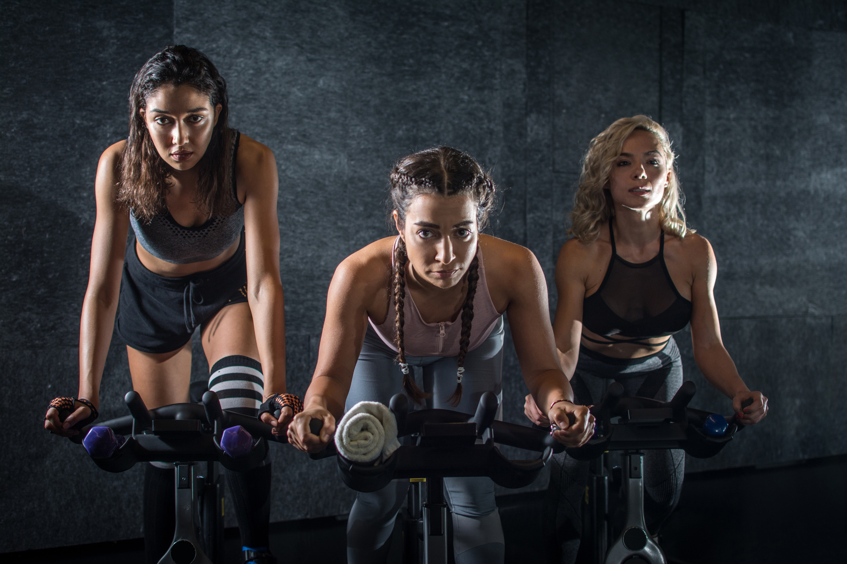 Trening indoor cycling