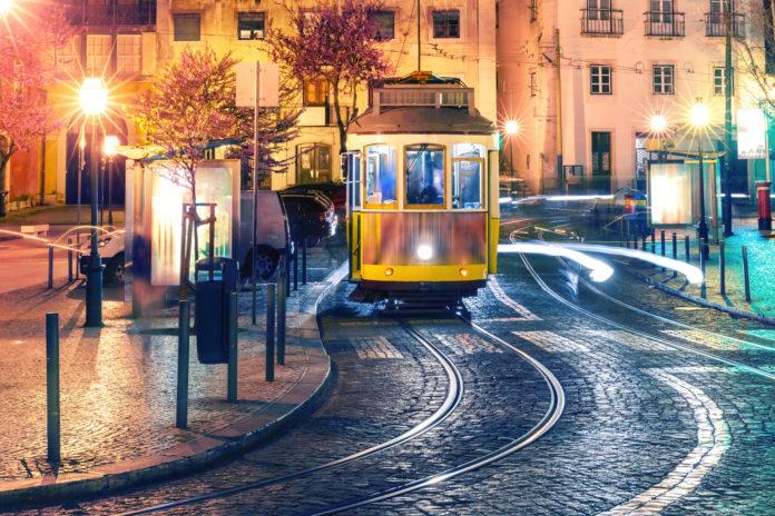tramwaj w Portugalii