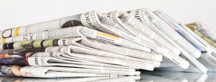 Dużo kolorowych gazet