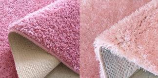 Dwa różne rodzaje dywanów
