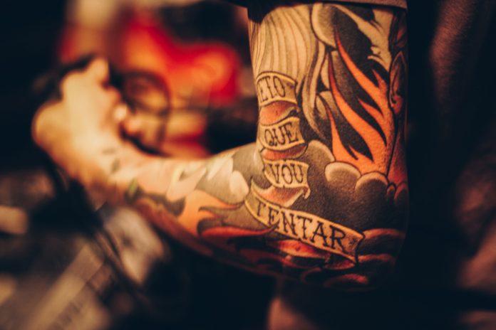 Piękny i fascynujący tatuaż 3d