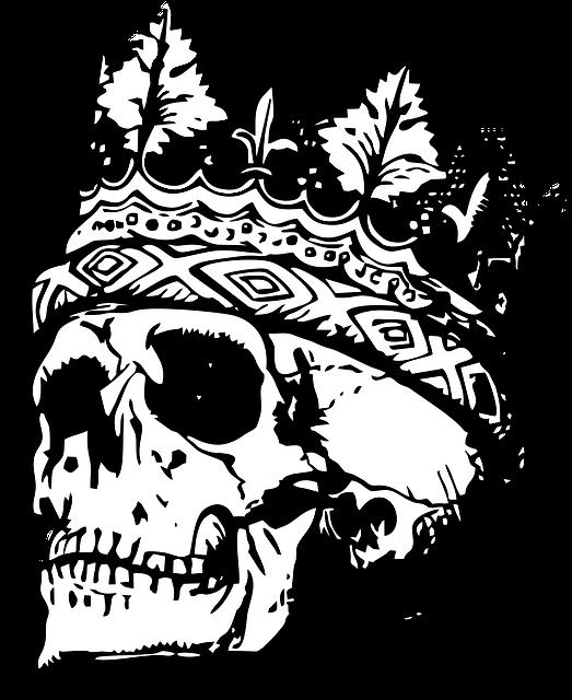Tatuaż czaszka 3D