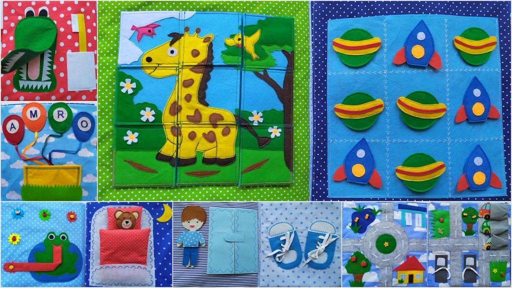 sensoryczna książka dla dzieci