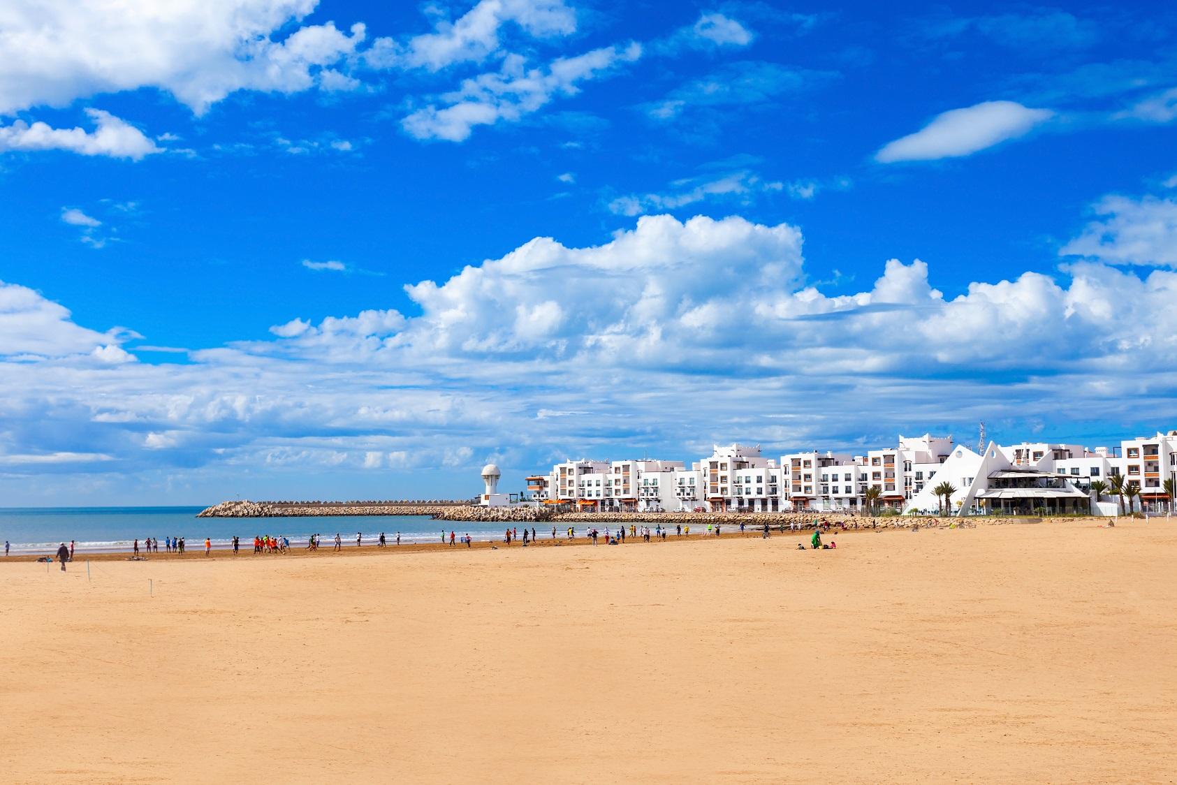 Plaża Maroko
