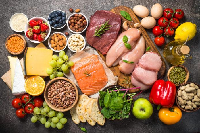 Różne produkty żywnościowe