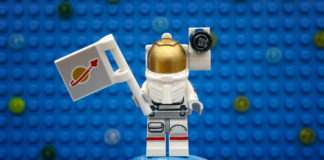 klocki lego ludzik kosmonauta