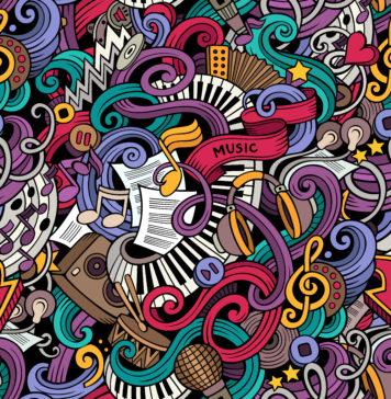 muzyka nuty instrumenty muzyczne