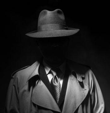 postać z filmu noir
