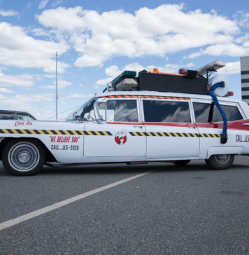 cadillac ghostbusters