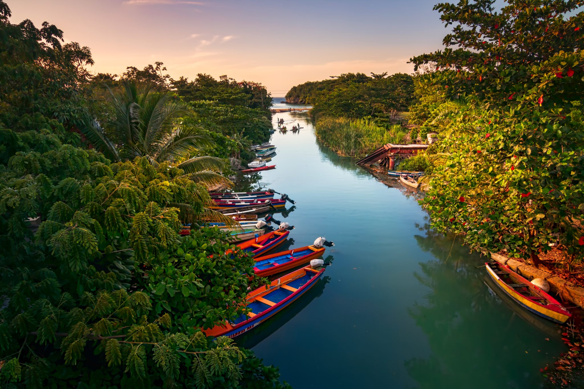 łodzie rybackie na jamajce