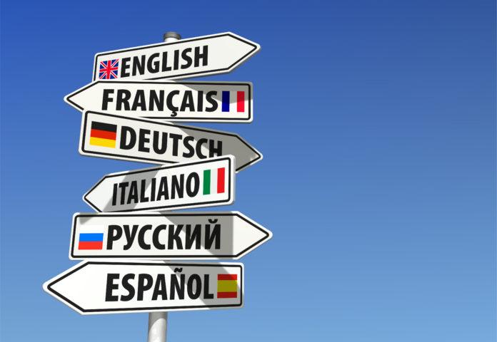kierunkowskazy różne języki