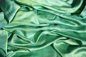 lśniąca tkanina