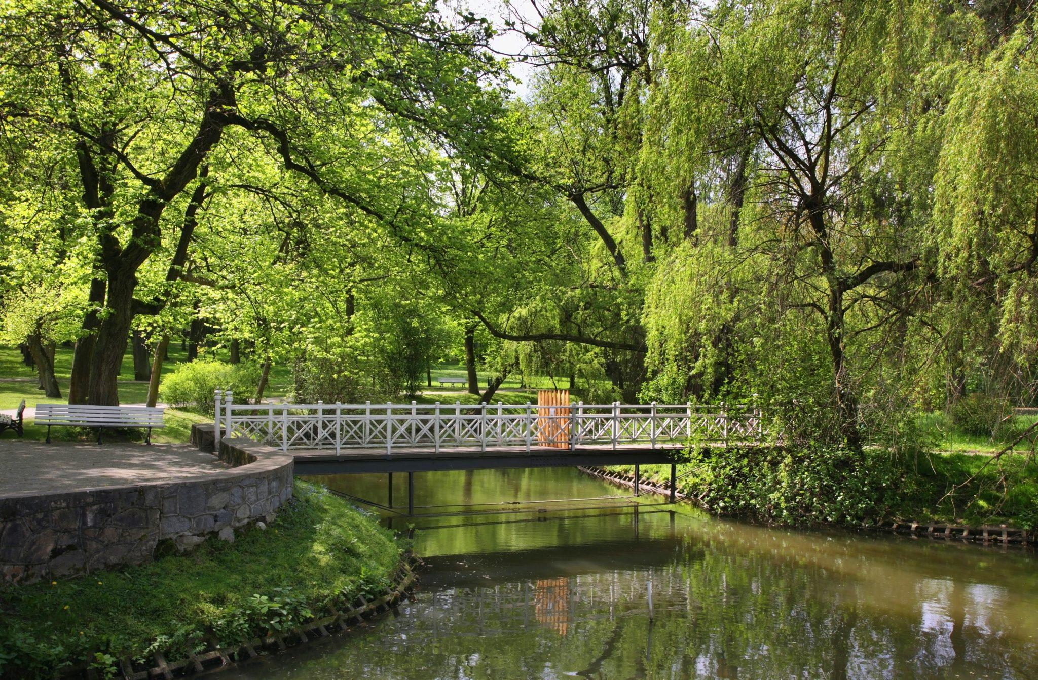 Park w Nałęczowie