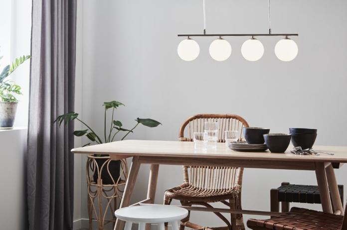 nowoczesne oświetlenie w pokoju