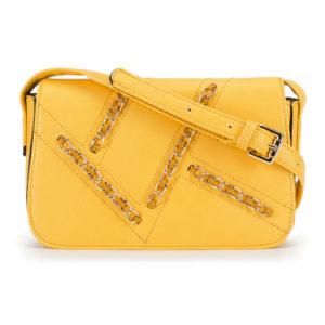 żółta torebka damska