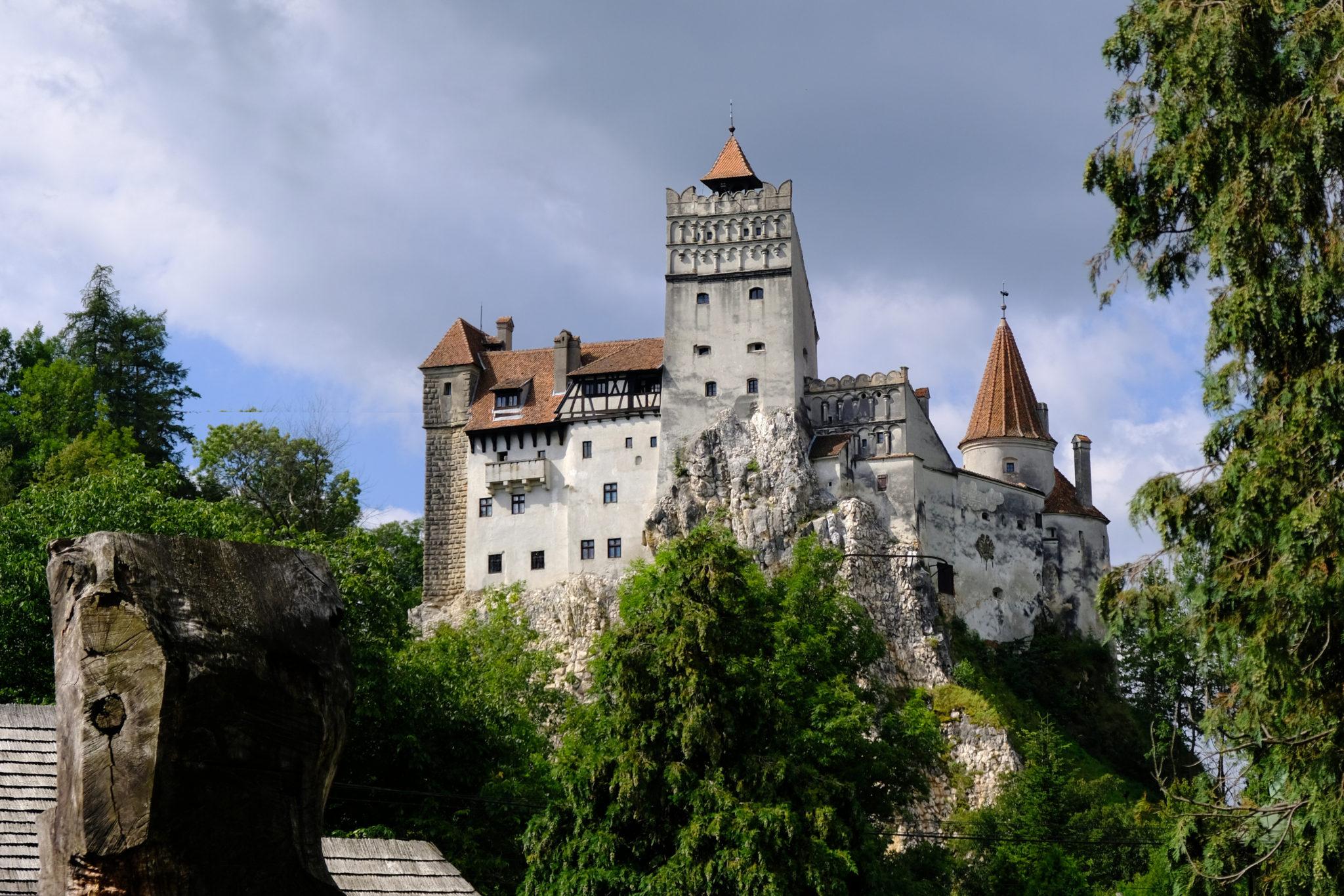 Rumunia, Transylwania - Zamek Drakuli w Bran
