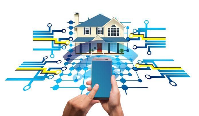 smart home zabezpieczenie mieszkania smartfonem