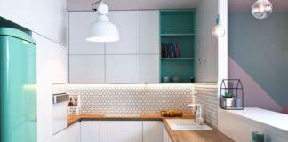 płytki do kuchni na ścianie