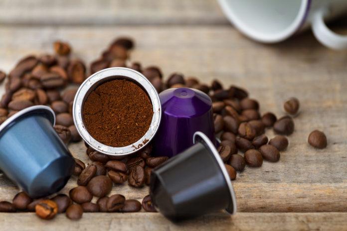 kawy w kapsułkach ziarno kawy