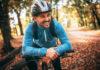 rowerzysta jesienią