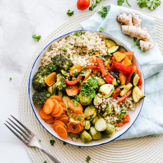 dieta pudełkowa zdrowe pożywne danie