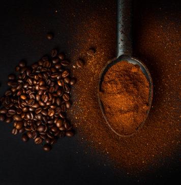 łyżeczka kawy mielonej