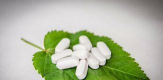 tabletki na liściu