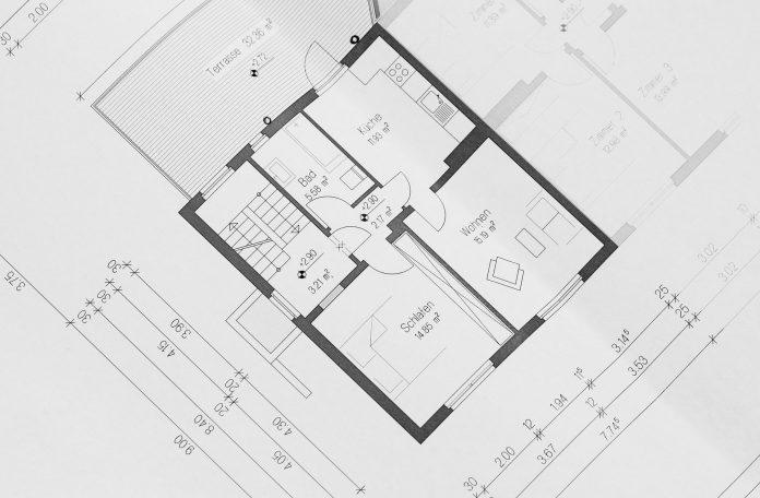 projekt domu na papierze