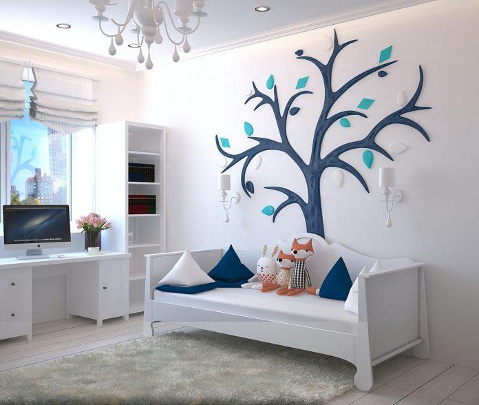 uroczy pokój dziecięcy