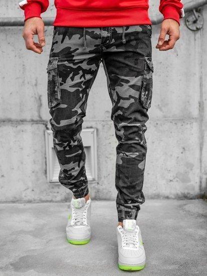 spodnie baggy męskie