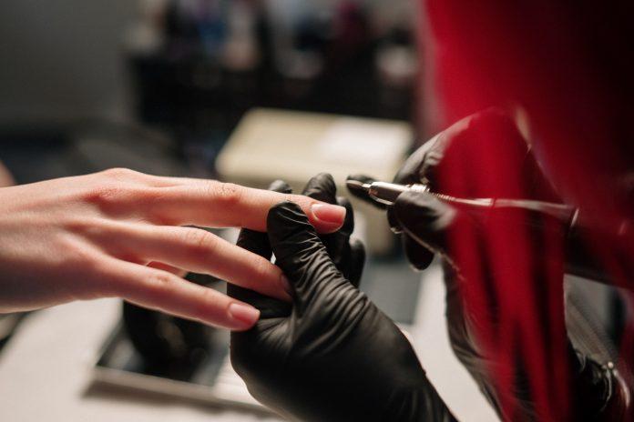 frezarka do paznokci czarna