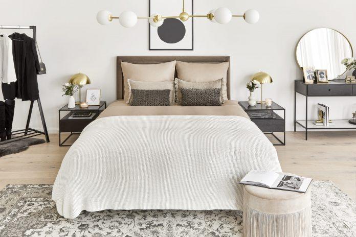 aranżacja sypialni westwing