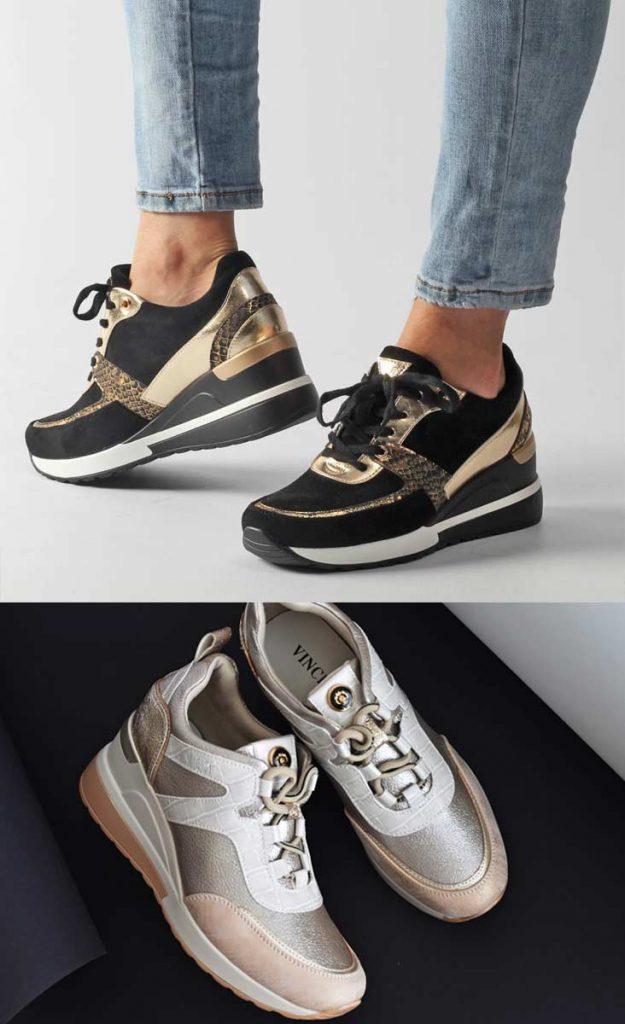 sneakersy damskie buty sportowe