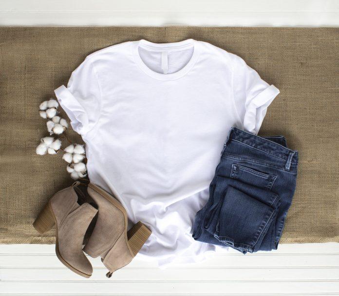 stylizacja z tshirtem